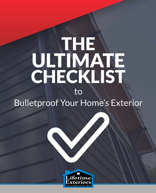 Lifetime Exteriors Ultimate Checklist