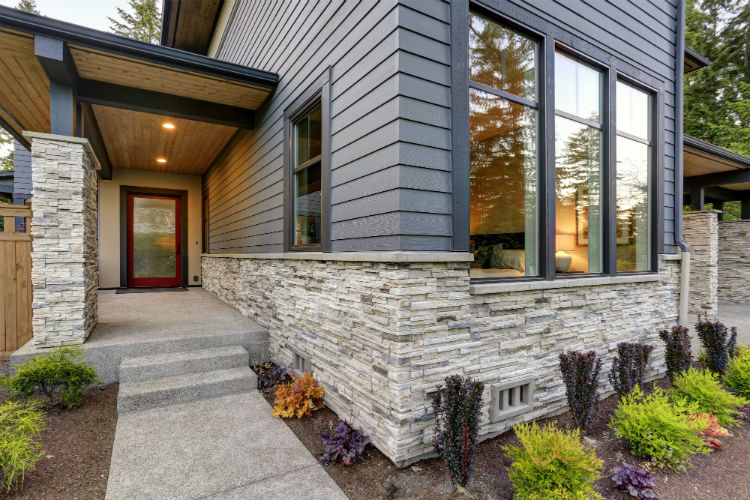 7 Great Options And Ideas For A Stone Brick Exterior