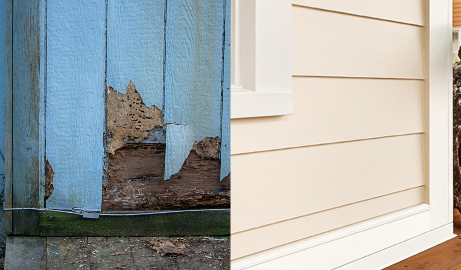 Replacing T1-11 & OSB Siding with James Hardie